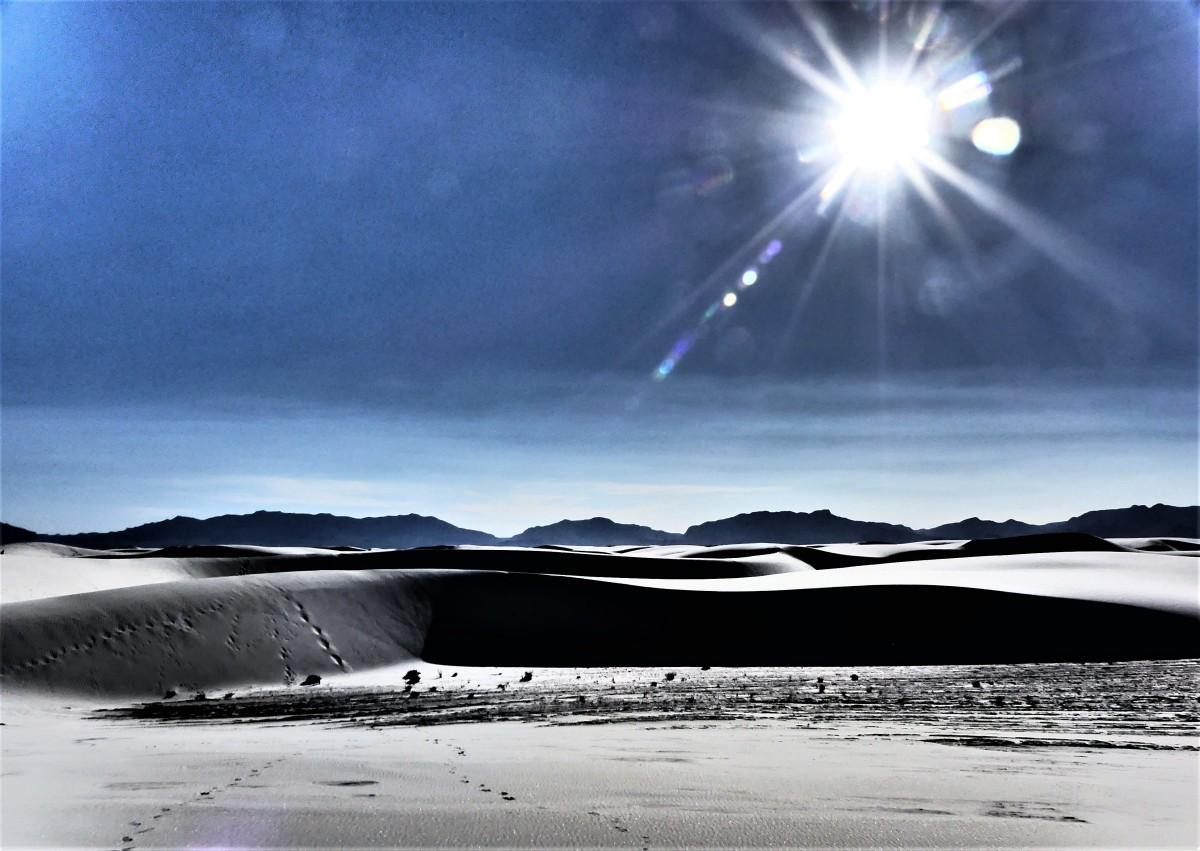 dune and sun