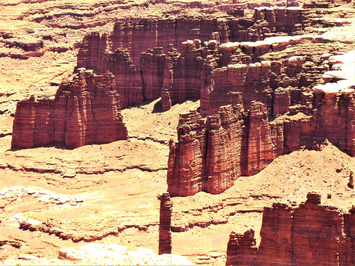 Buck Canyon formations
