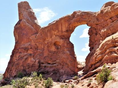 establishing carver turret arch