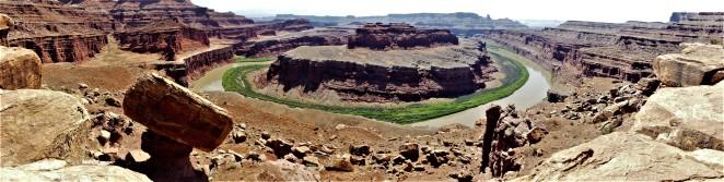 gooseneck overlook panorama