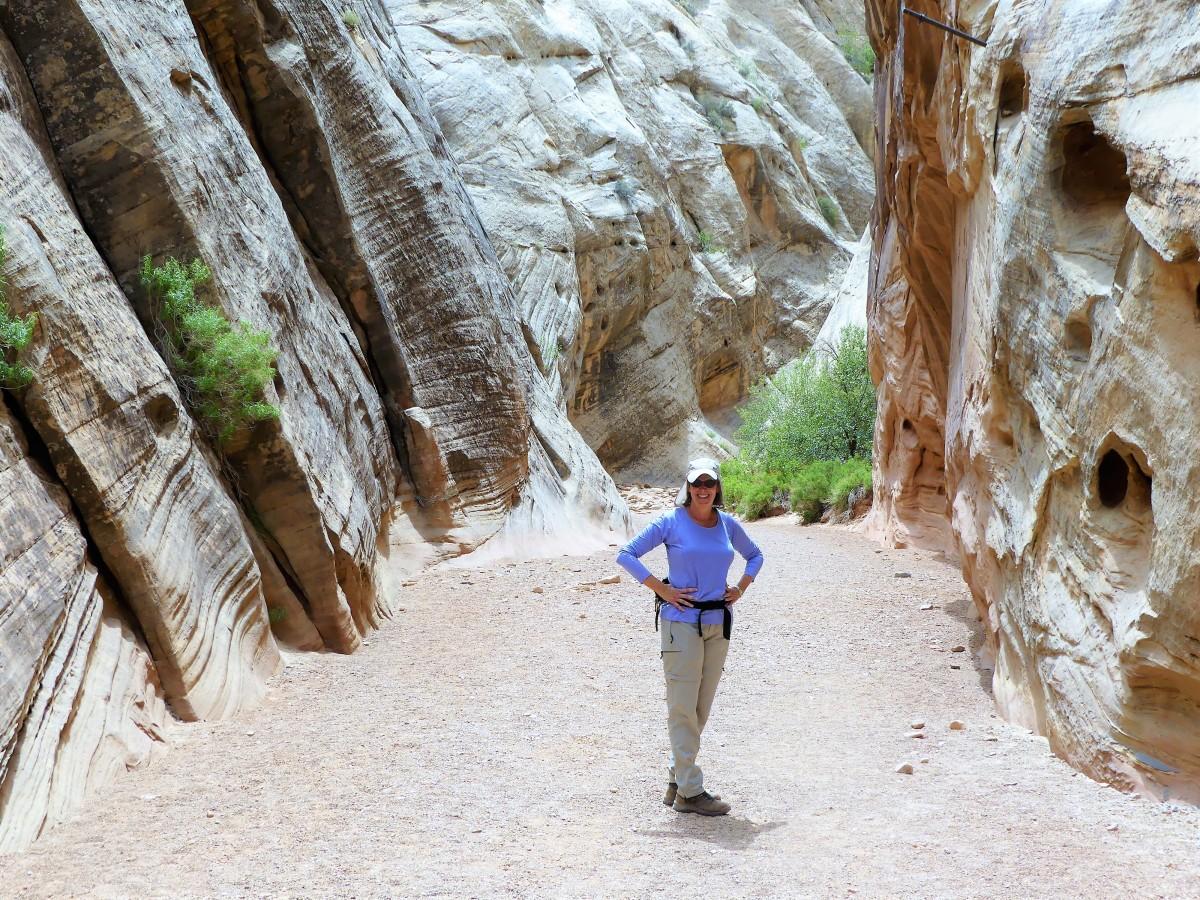 Leah hike