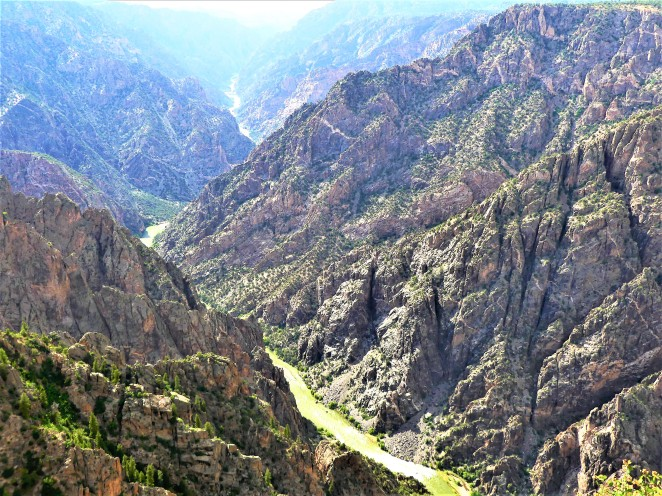 long view of canyon