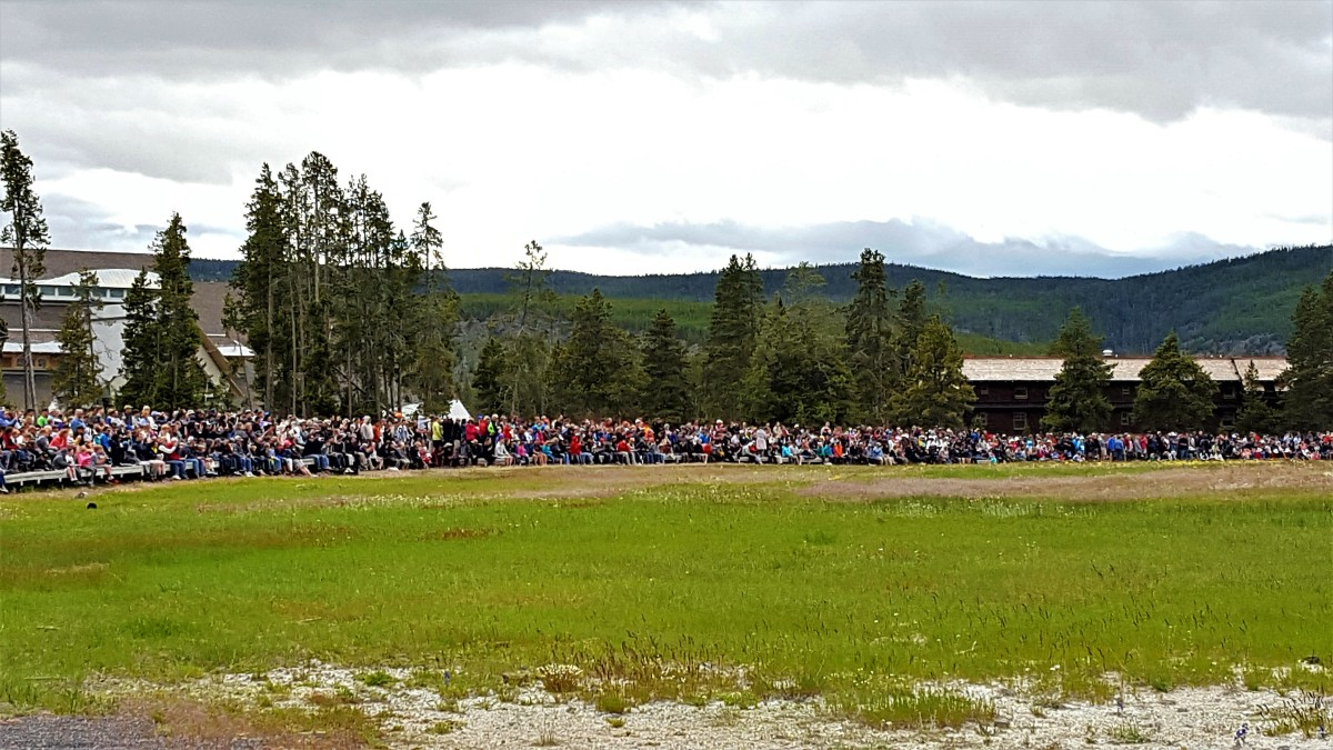old faithful crowd