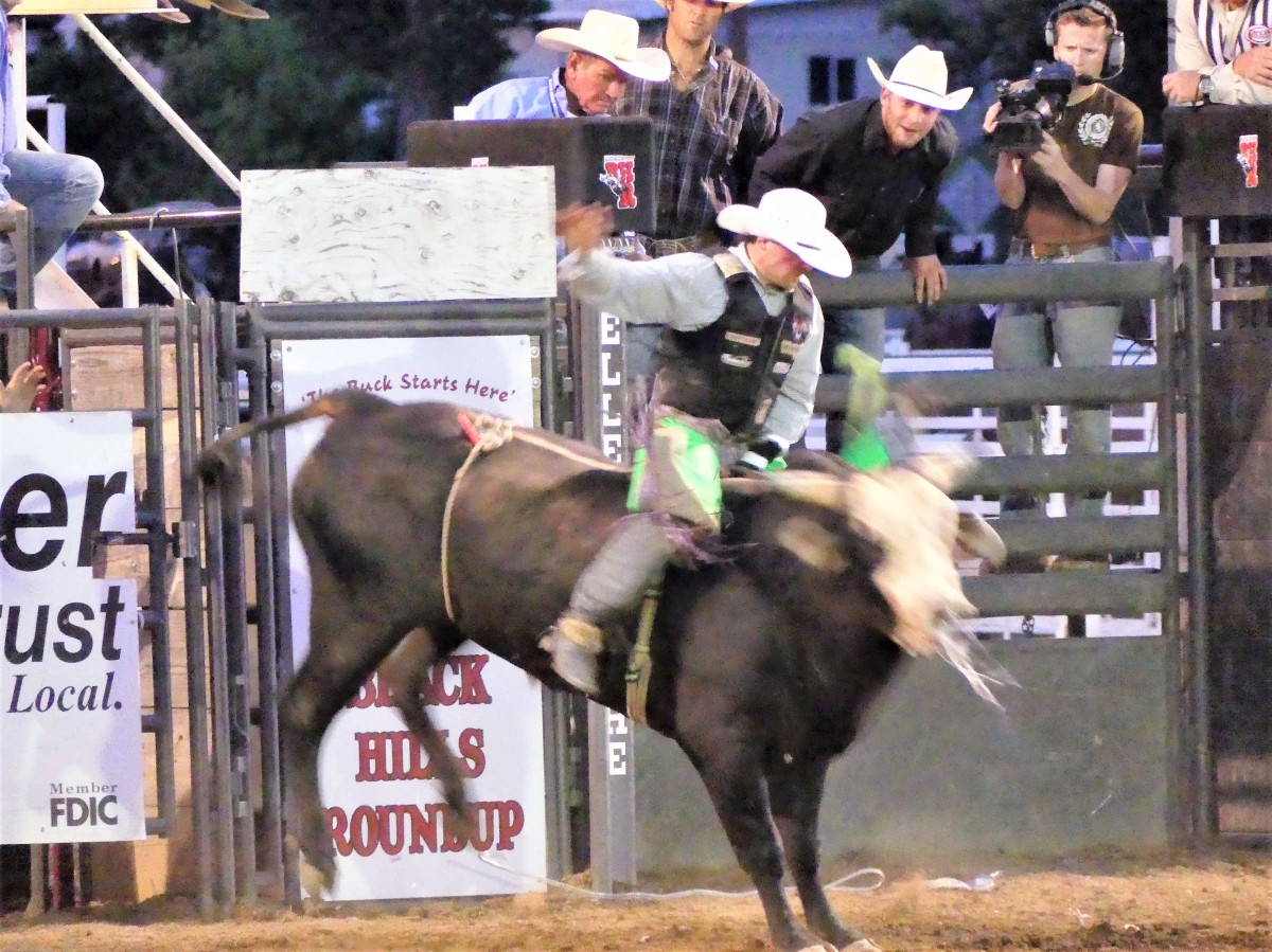bull rider before