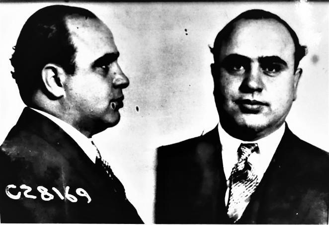 Capone mug shot