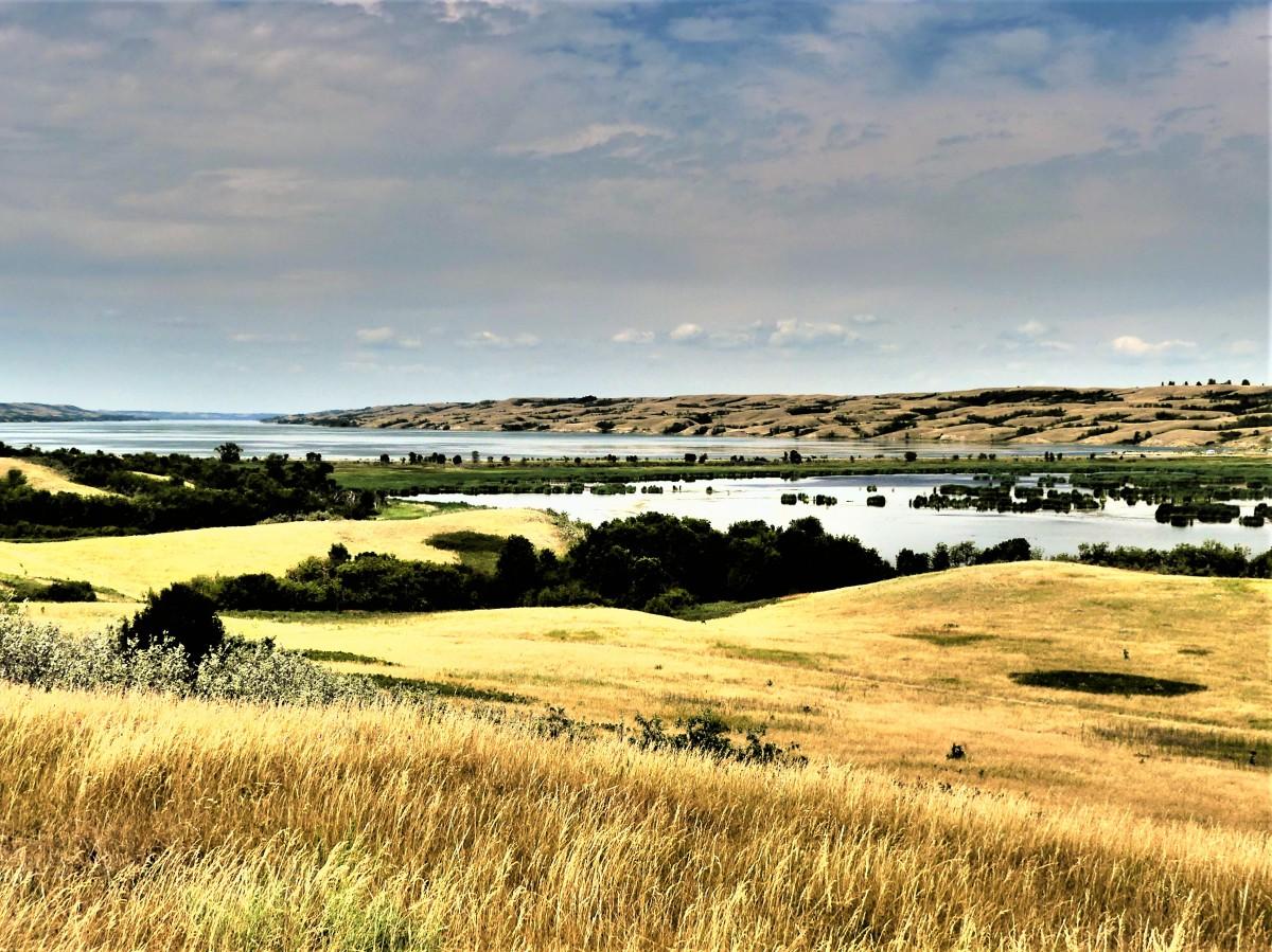 Lake and Flats