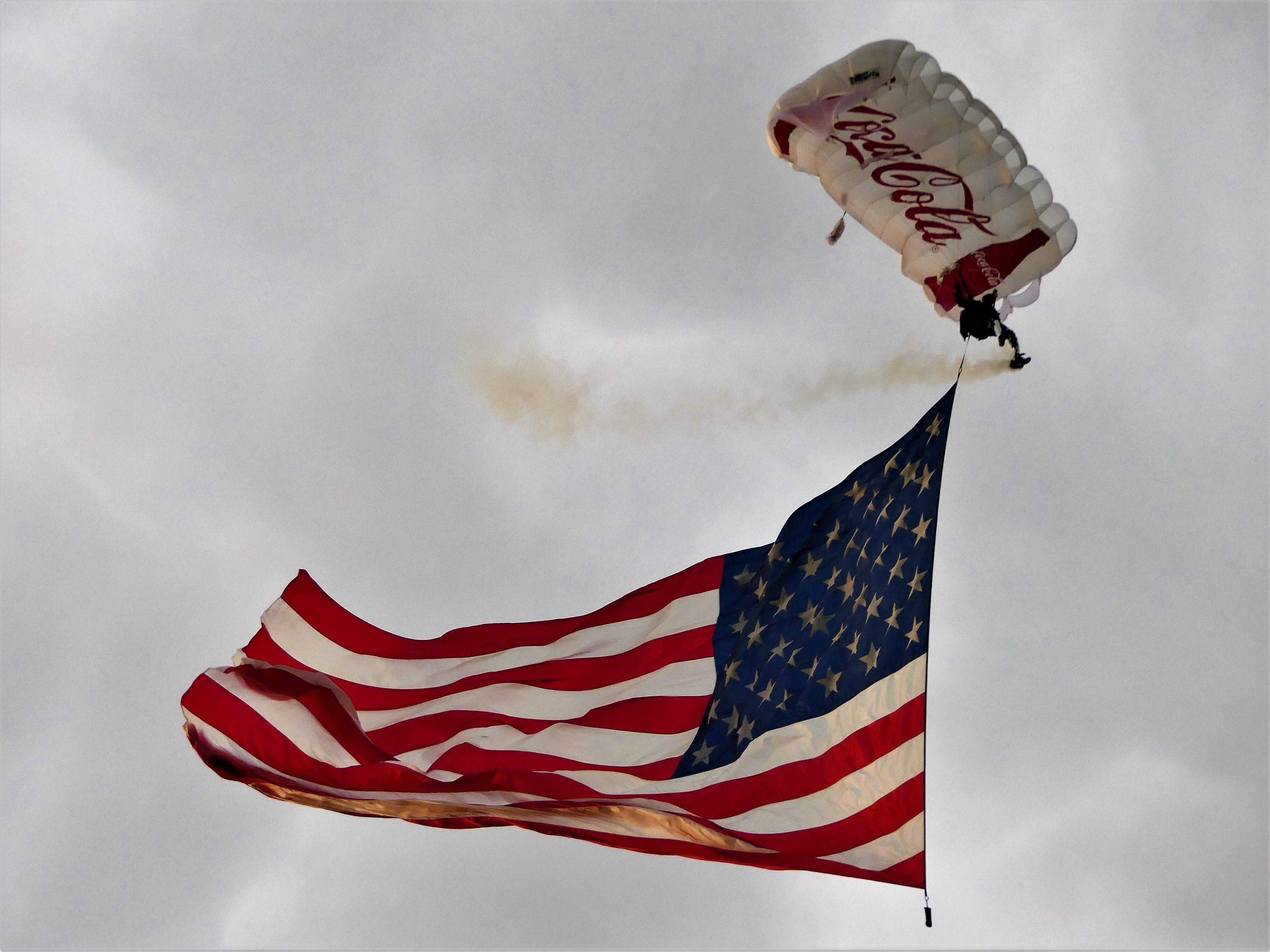 skydive salute
