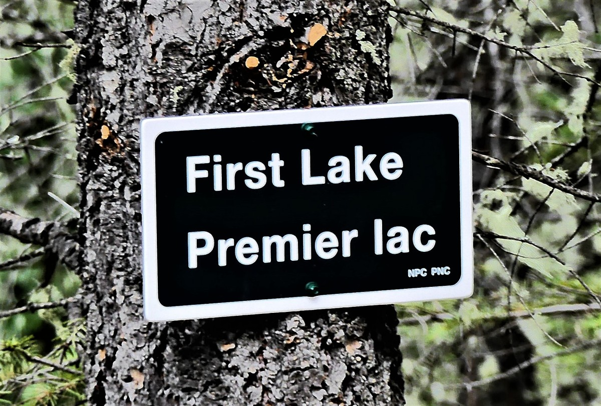 1st lake sign