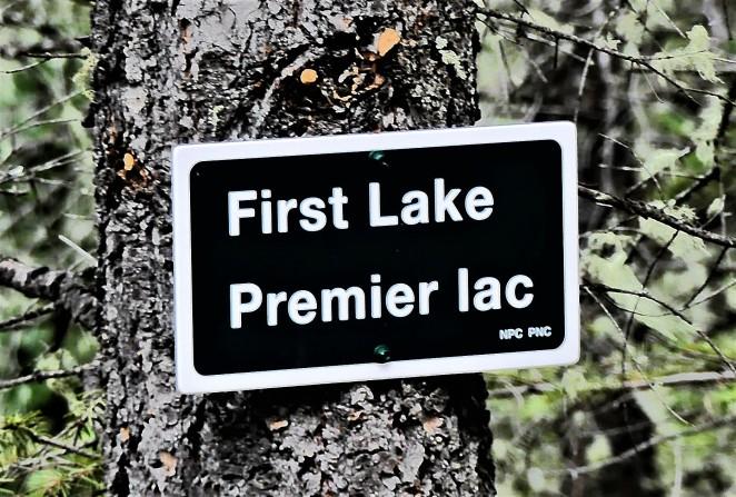 1st lake sign