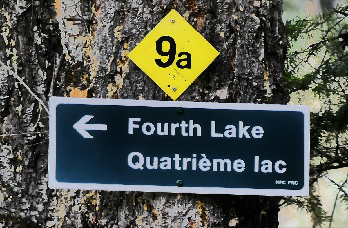 4th lake sign