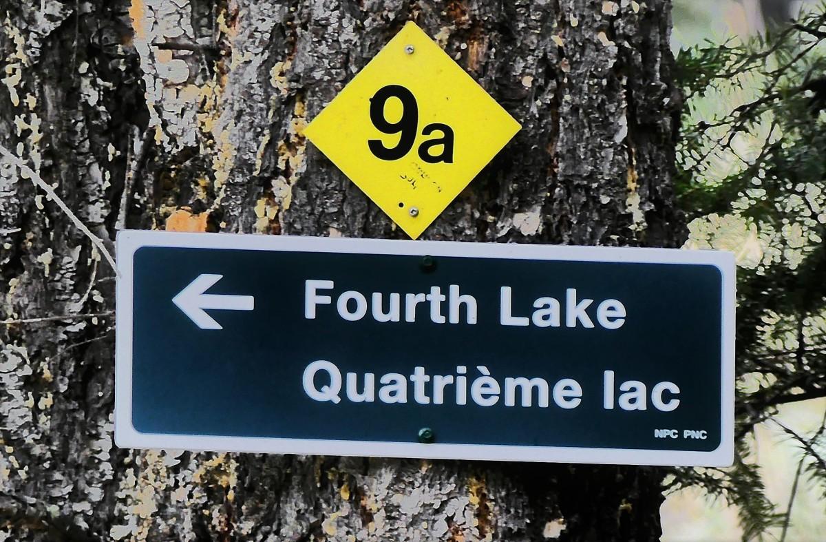 4th lake sign
