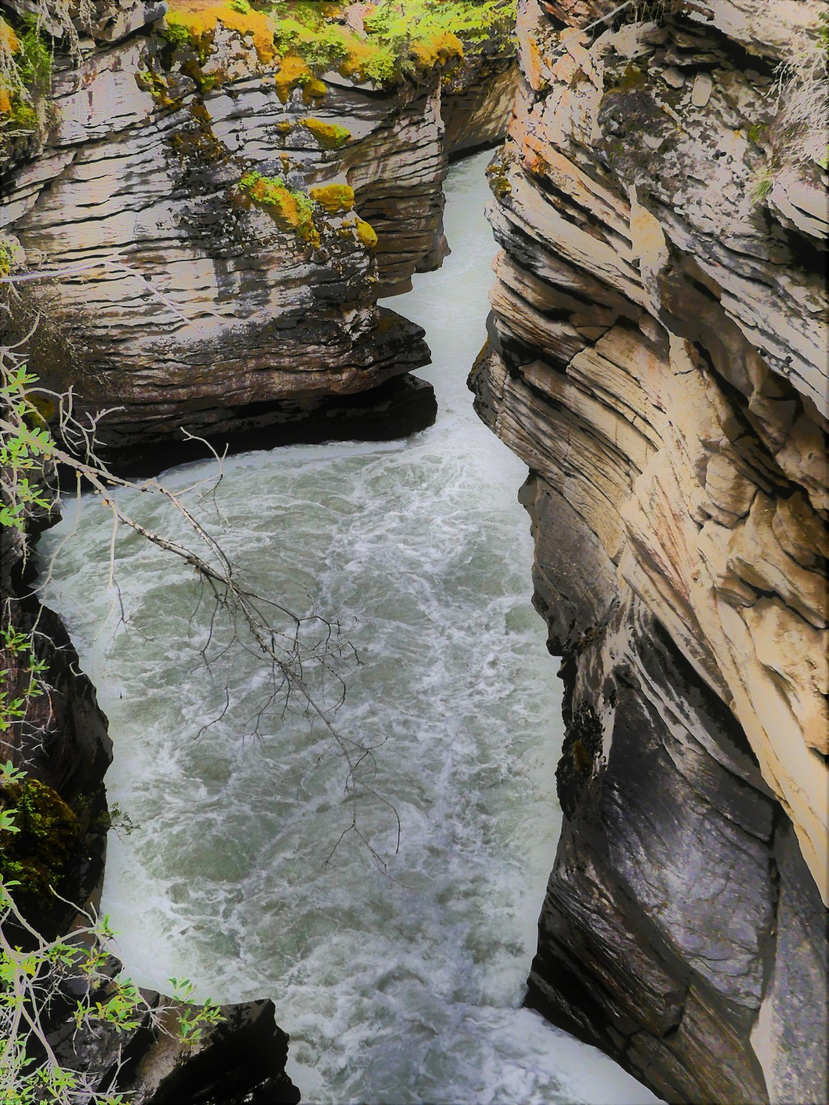 Athabasca Falls exit