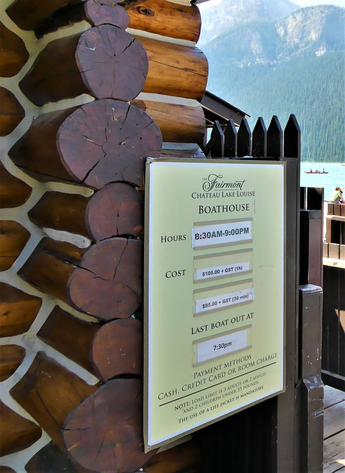 canoe pricing