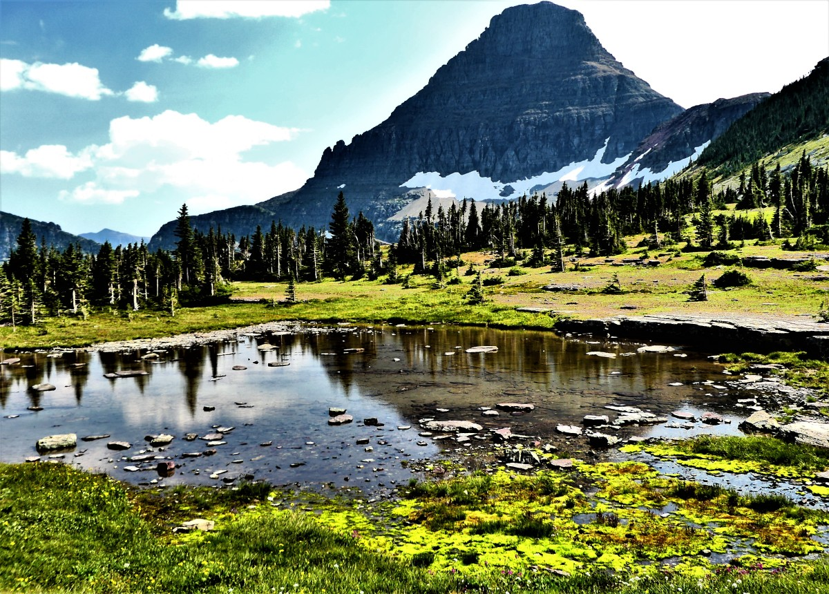 glacial pond