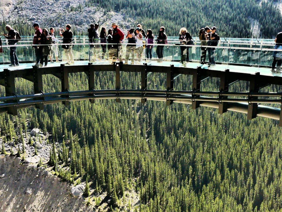 glacier bridge