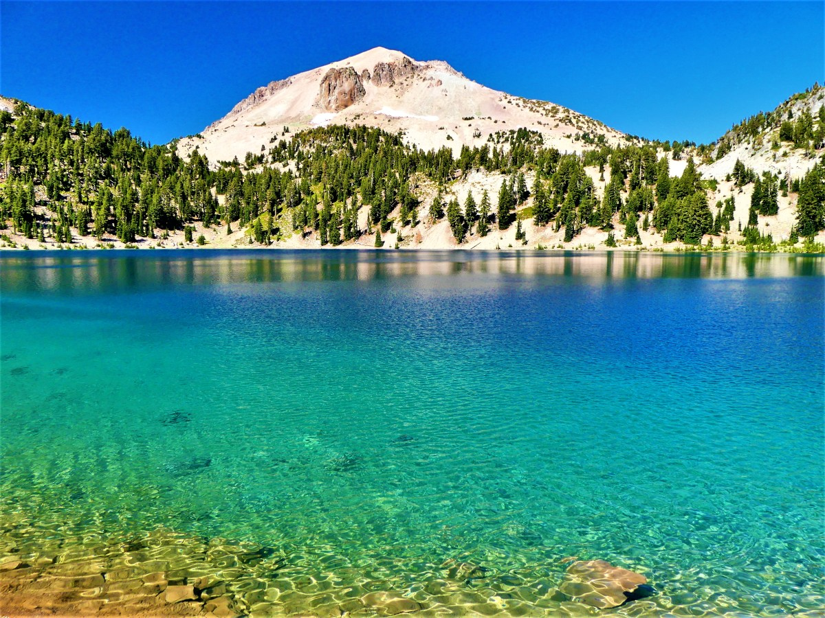 Lake Helen and Lassen Peak1