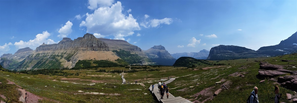 Logan Pass panorama