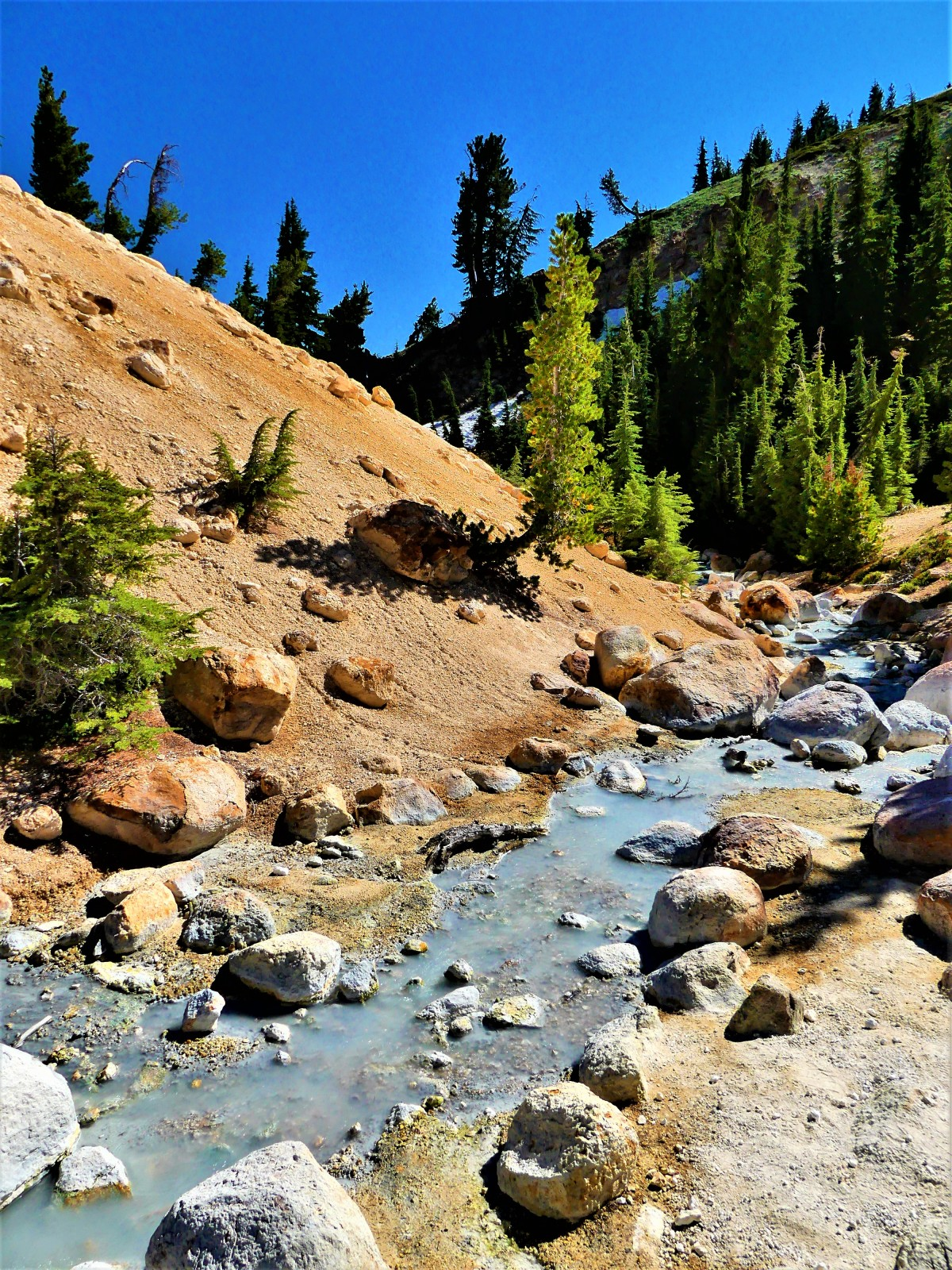 Sulphur Spring runoff