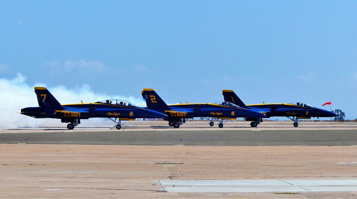 Blue Angel lineup