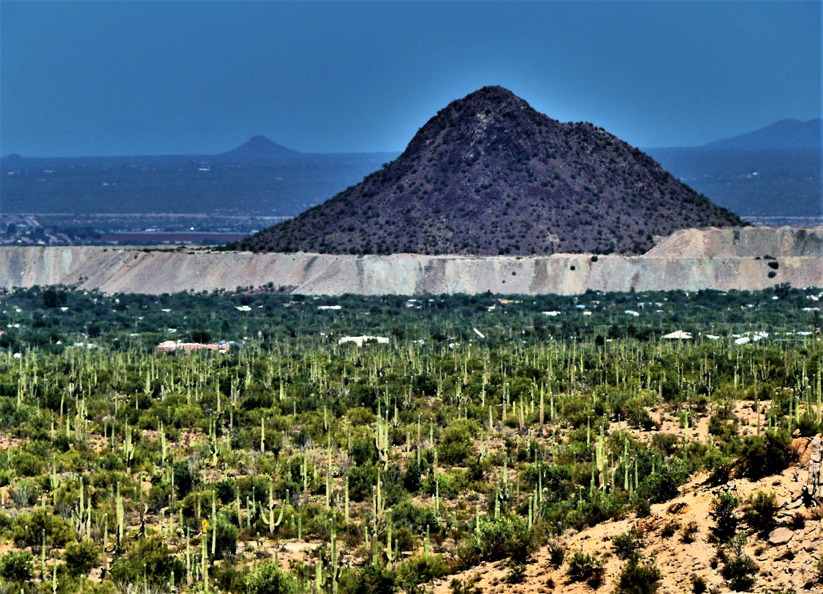 Avra Valley and Picacho Peak