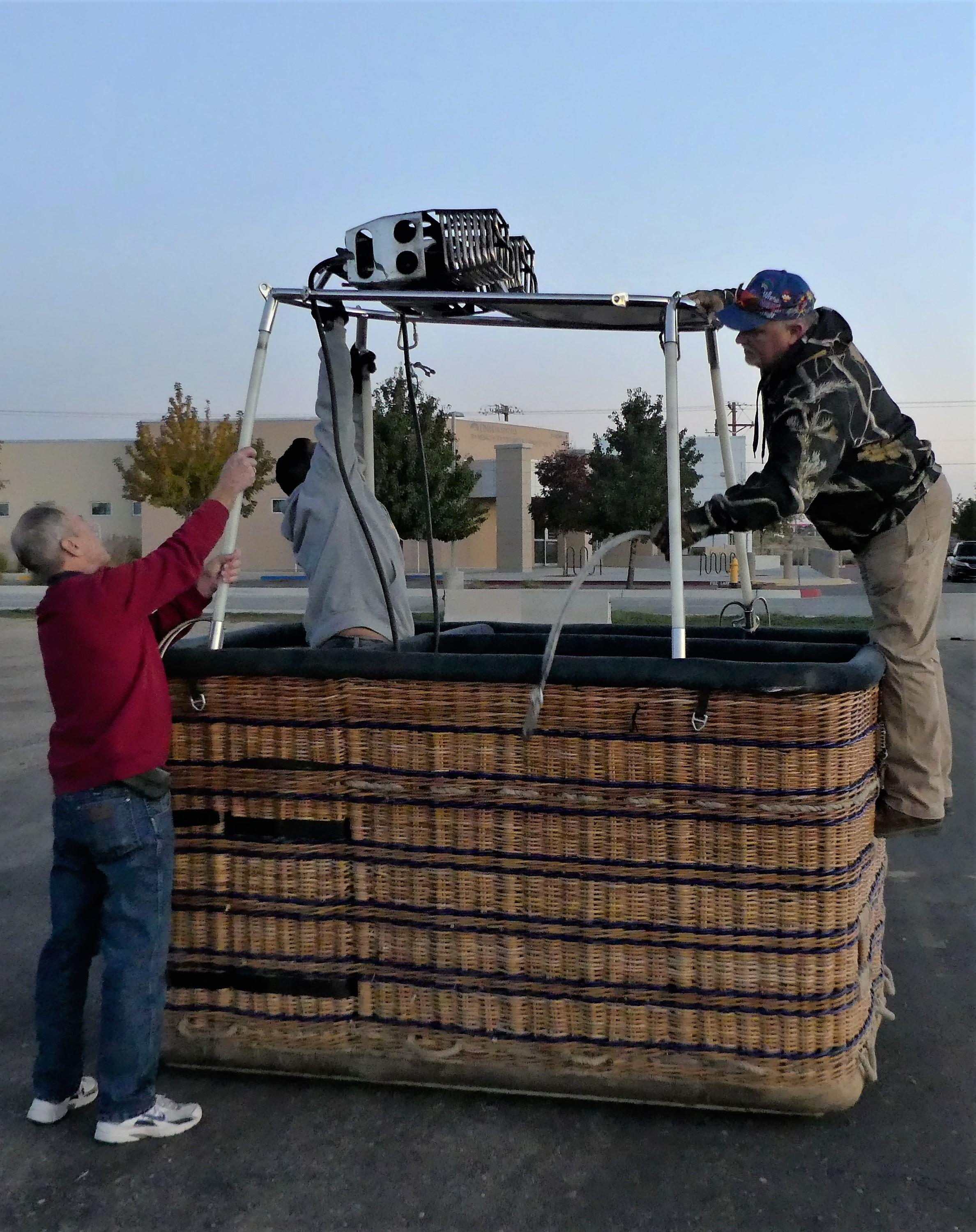 building the basket