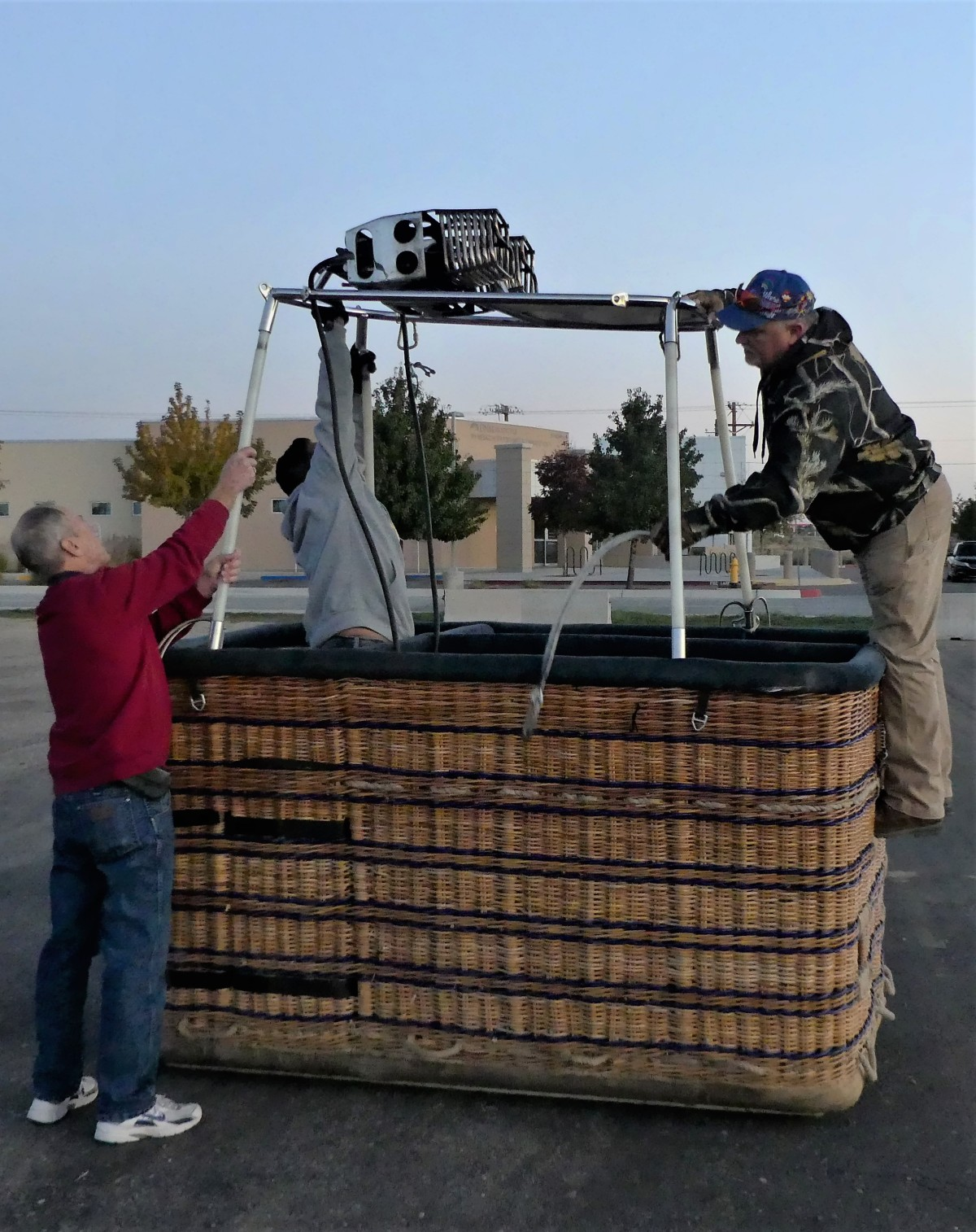 building the basket