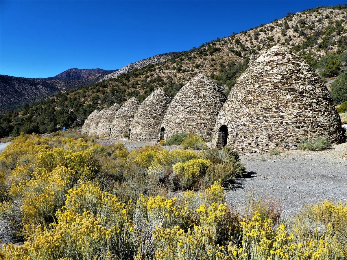 Charcoal kilns1