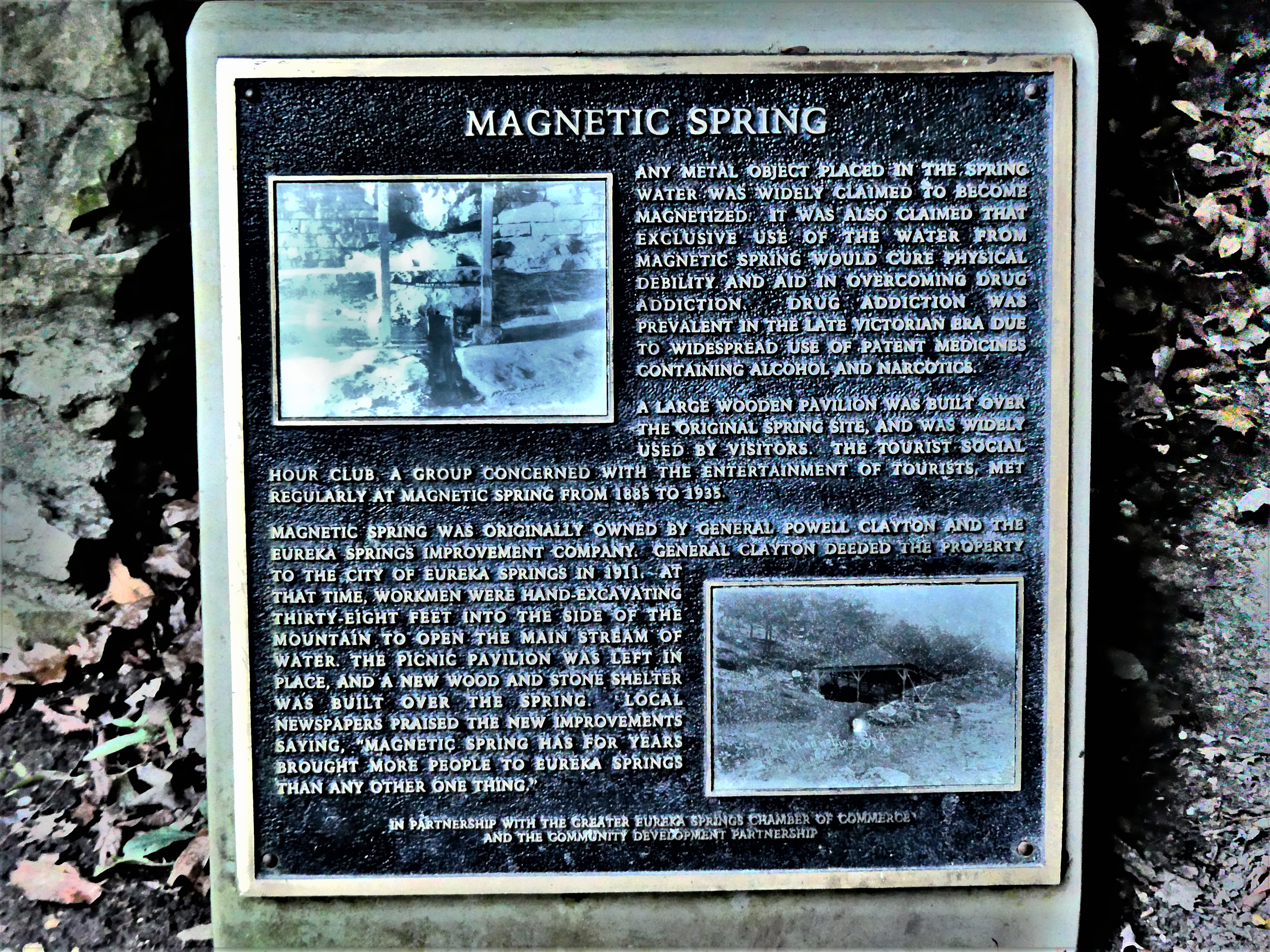 Magnetic Spring plaque