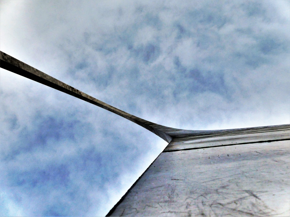 Arch against the sky