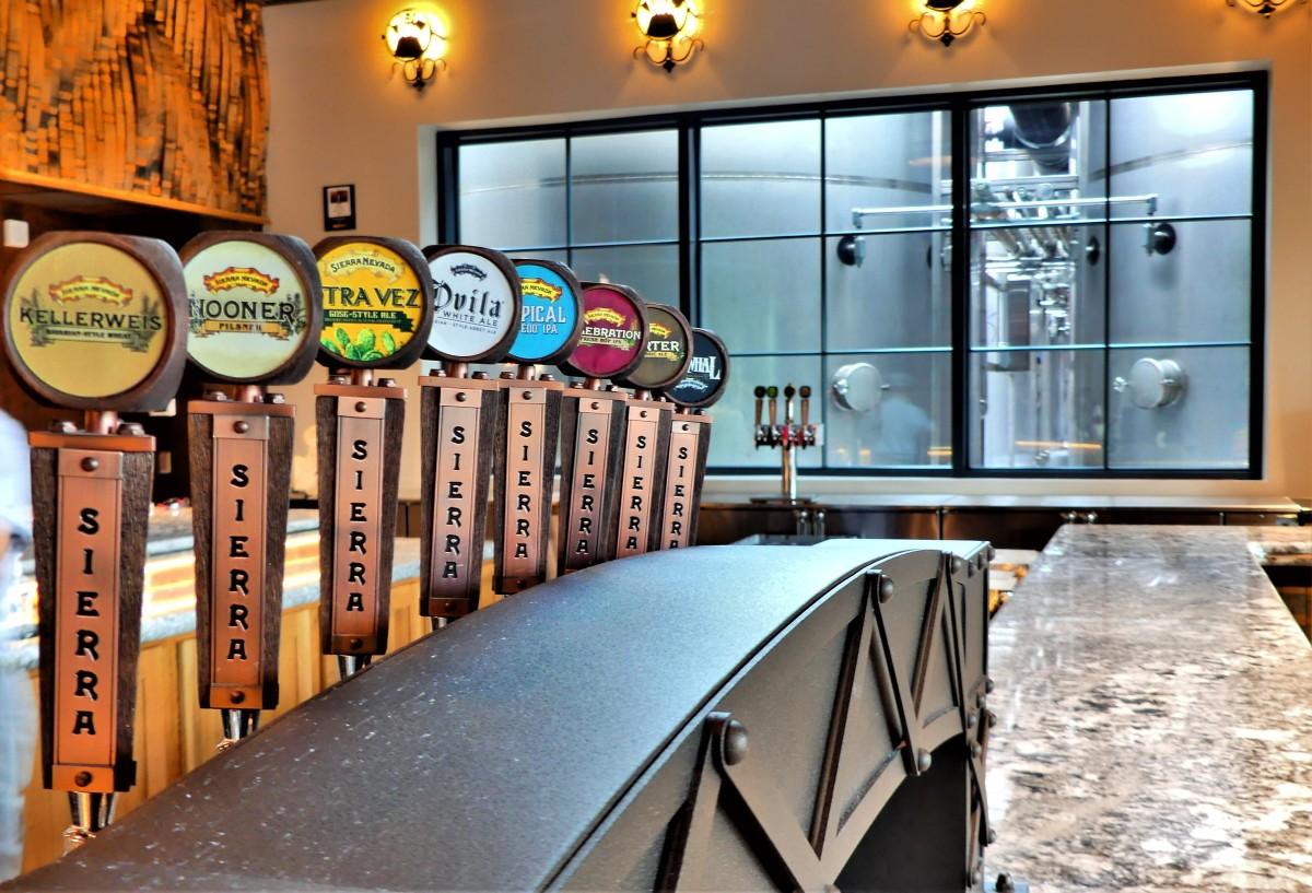 beer tap samples