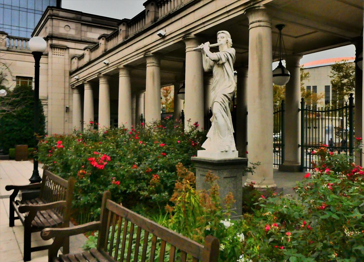 symphony hall garden