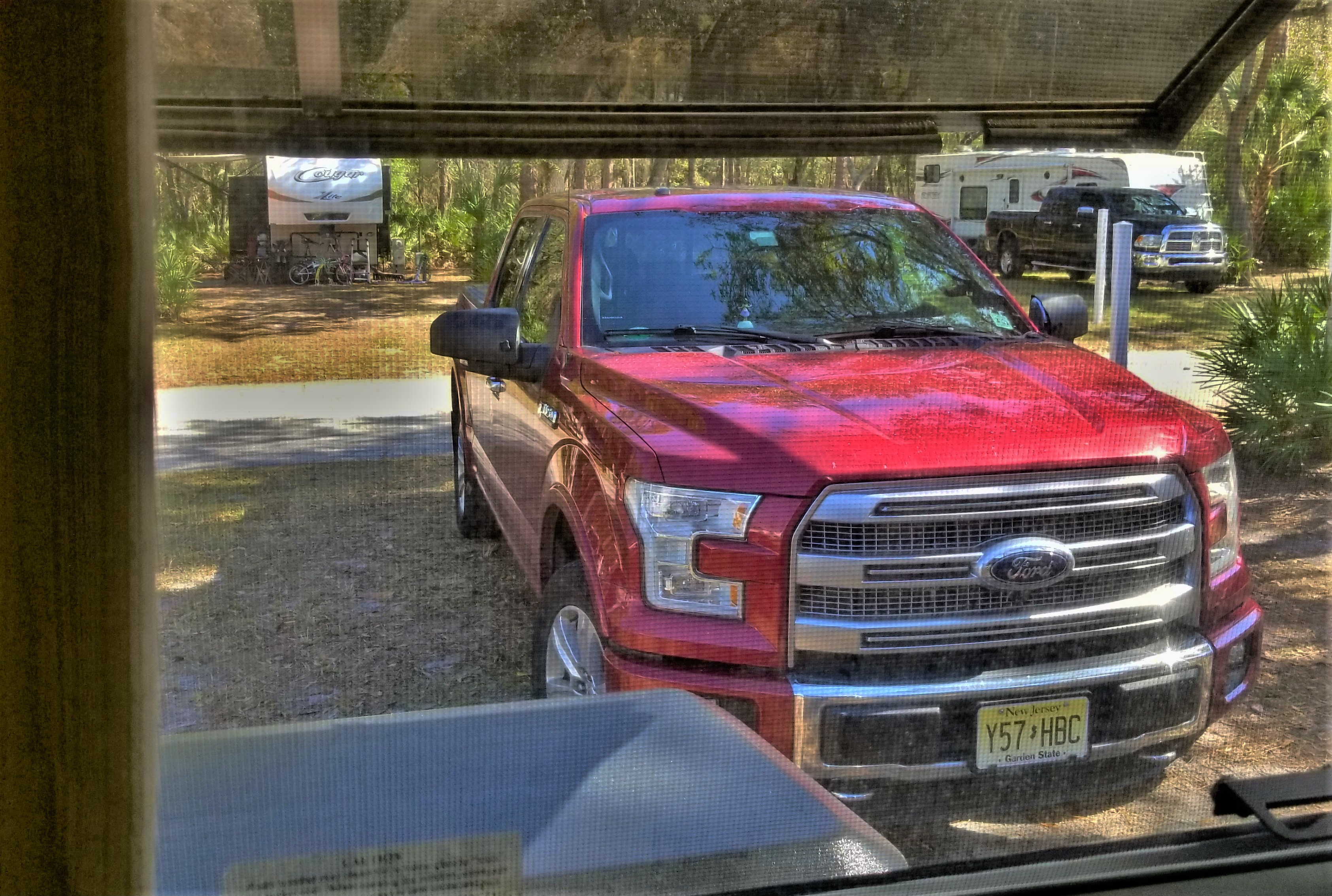 truck thru window