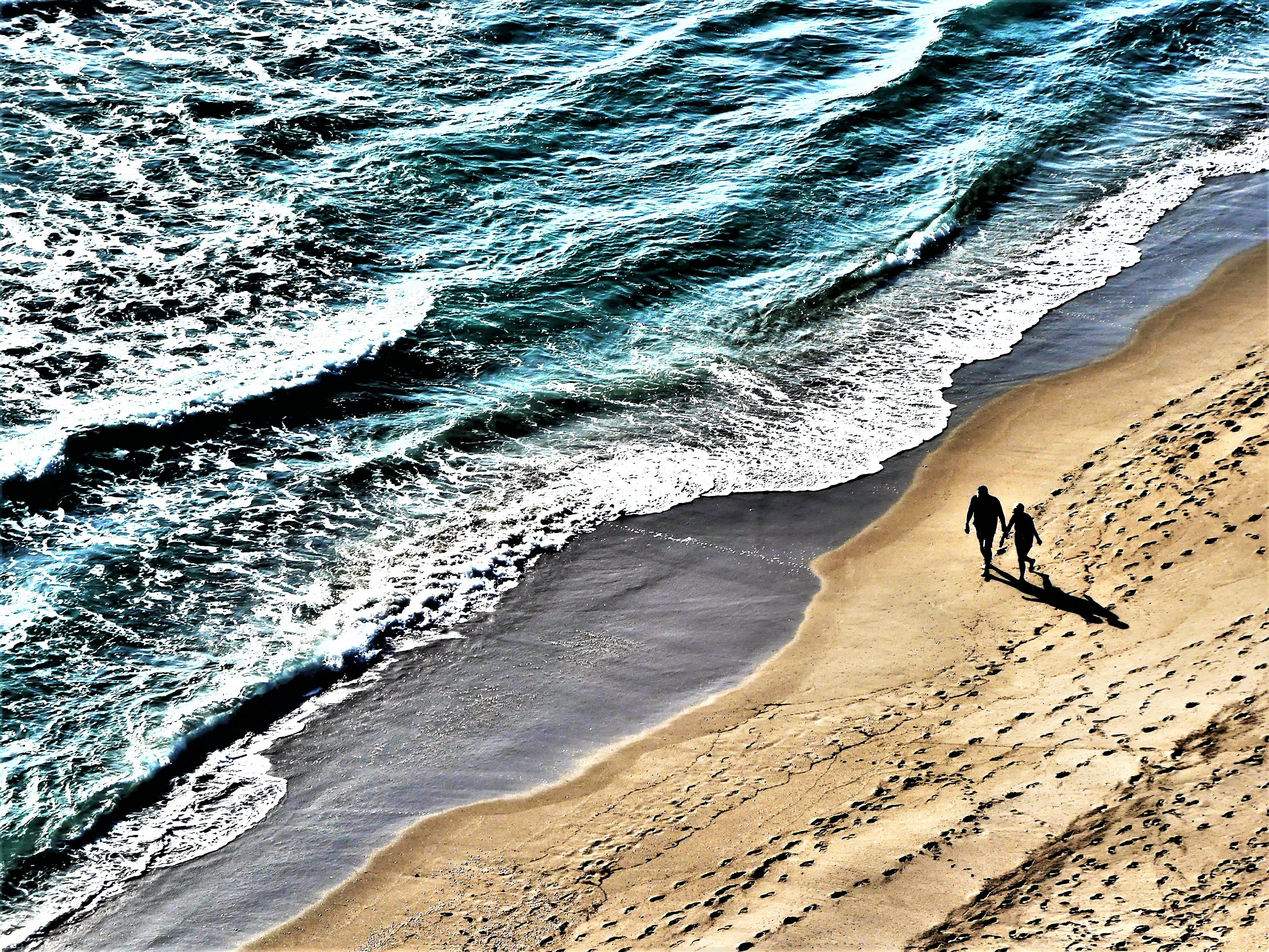 couple taking a walk