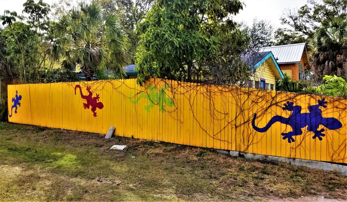 Gecko fence