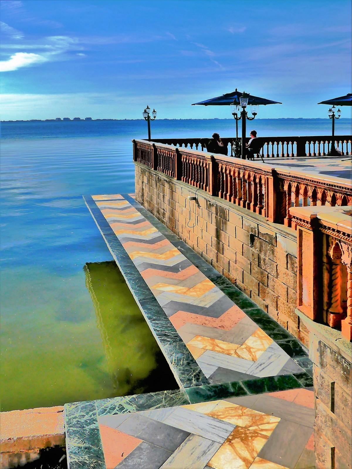 marble terrace