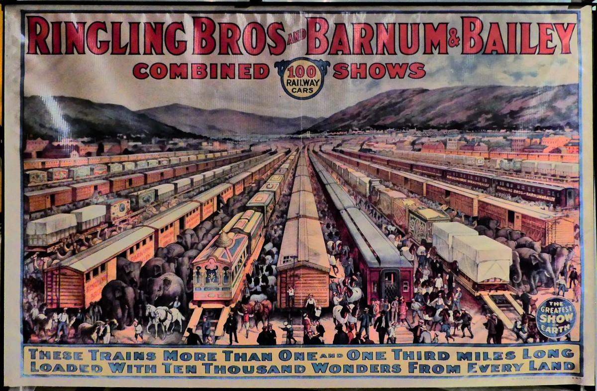train poster