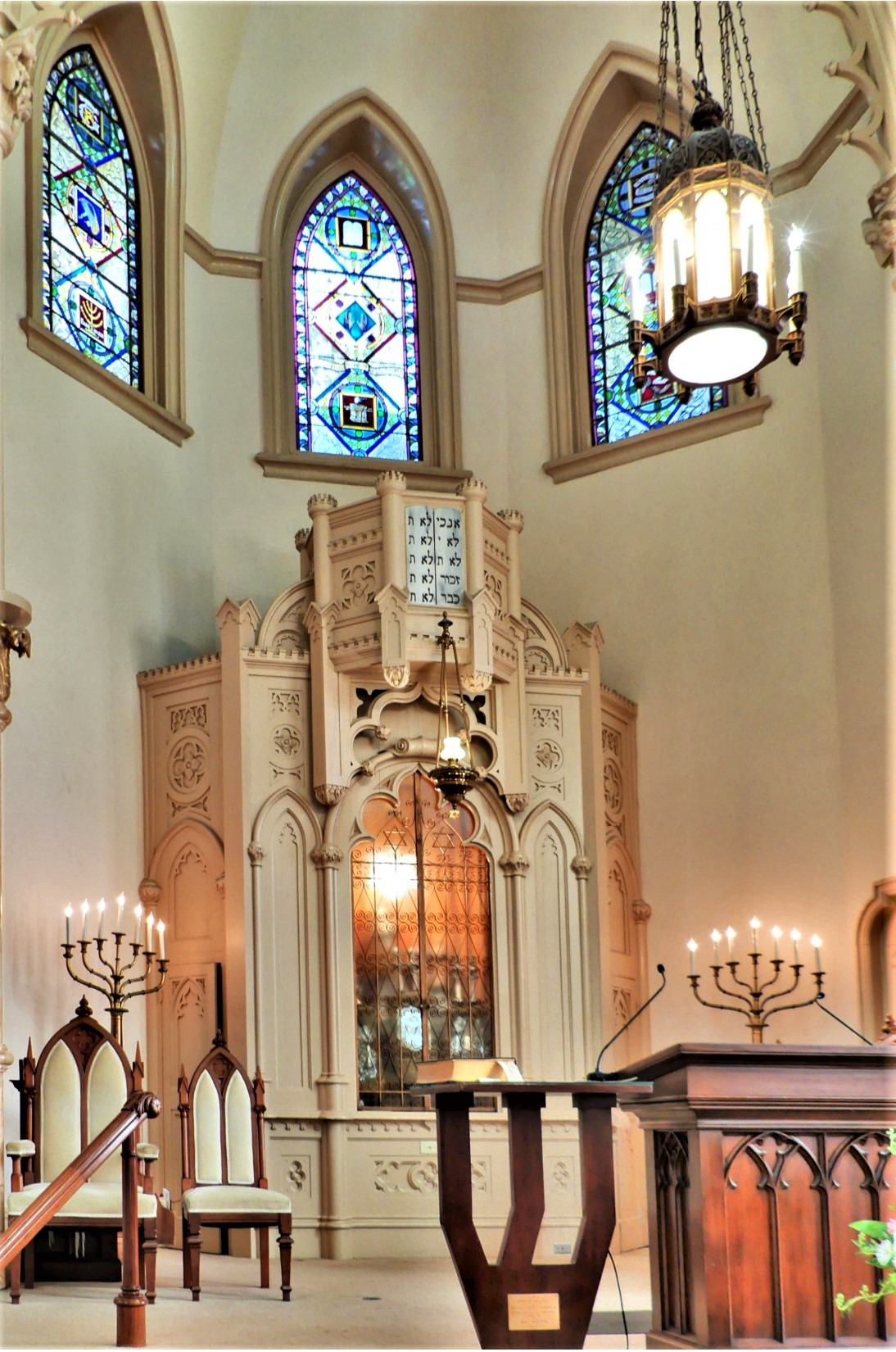 Bimah and Ark