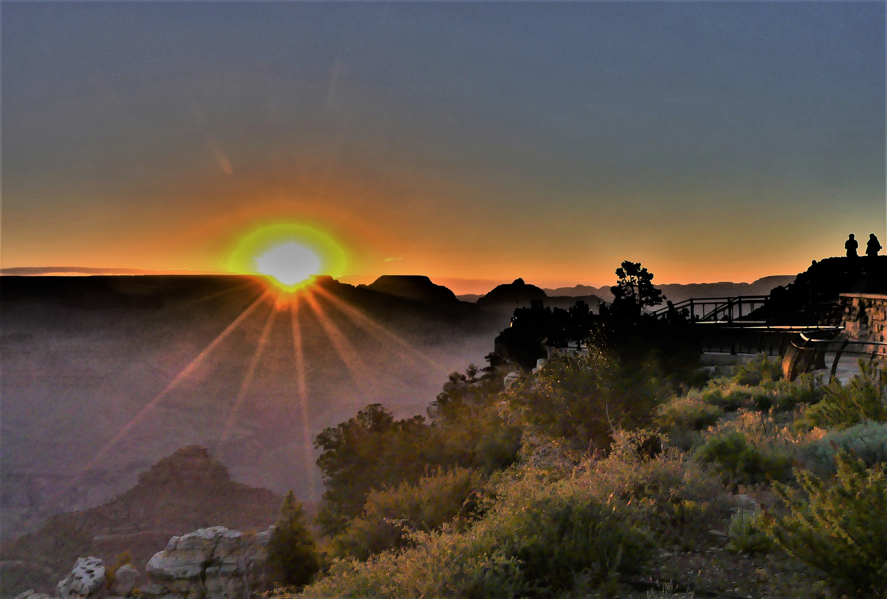 Grand Canyon sunrise (2)
