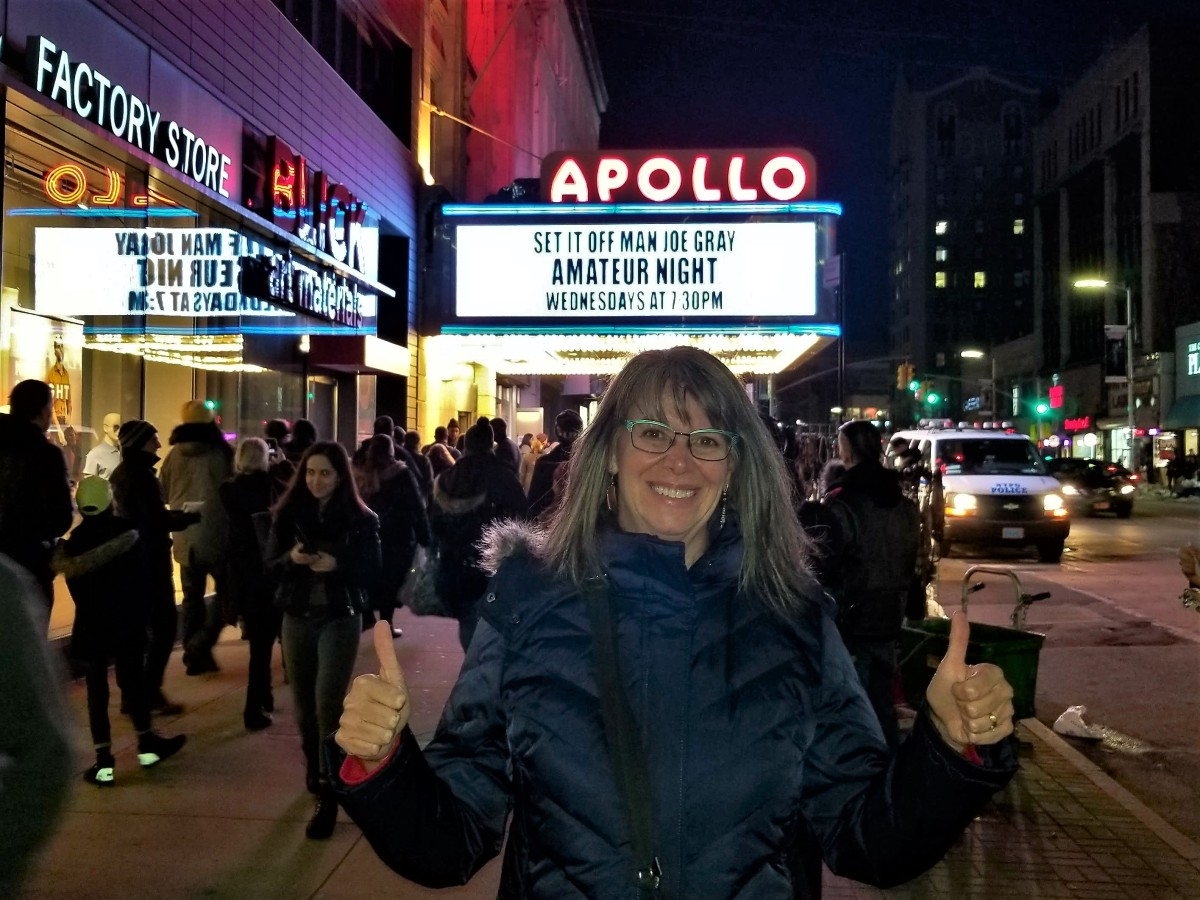 Leah at the Apollo