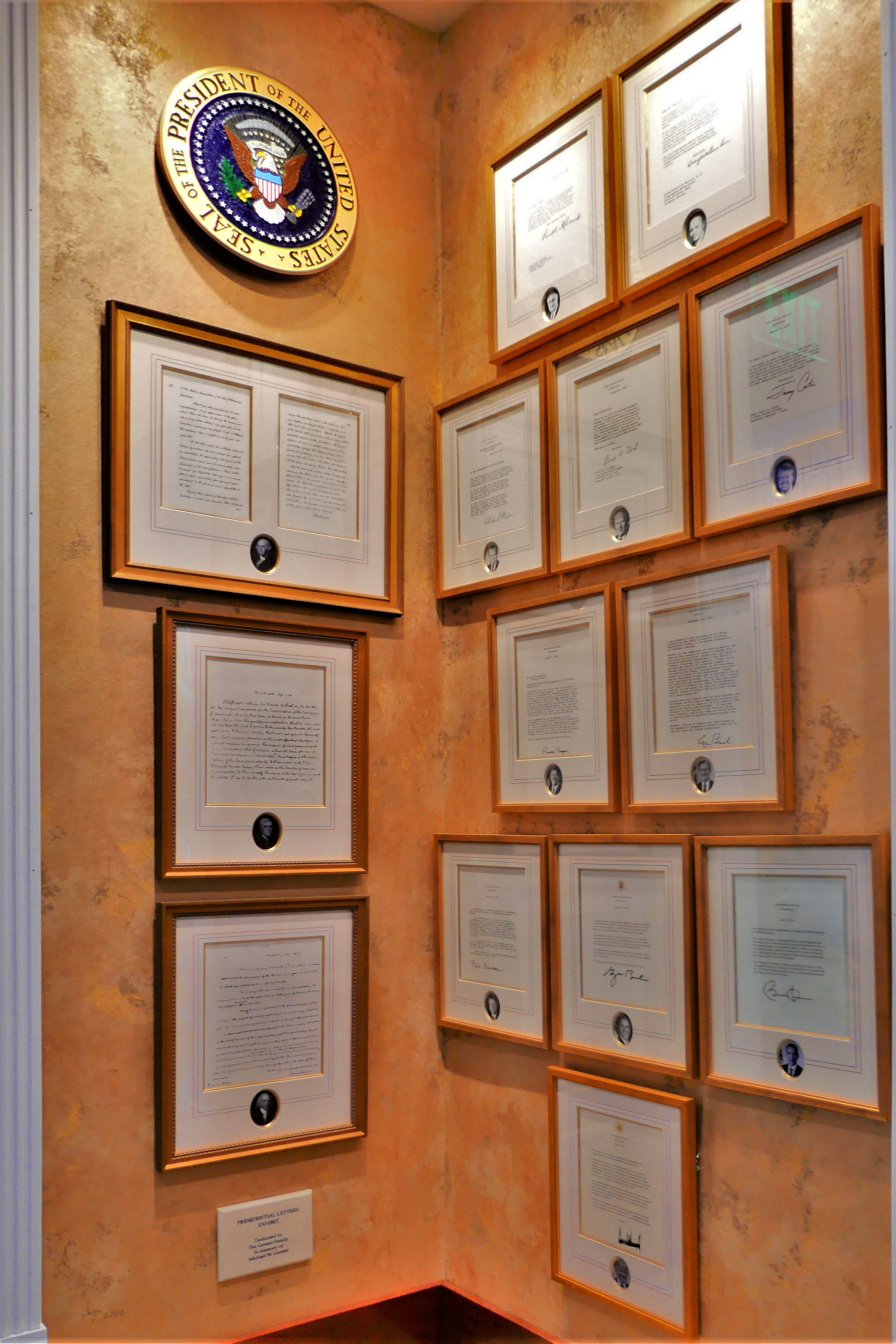Wall of Presidents