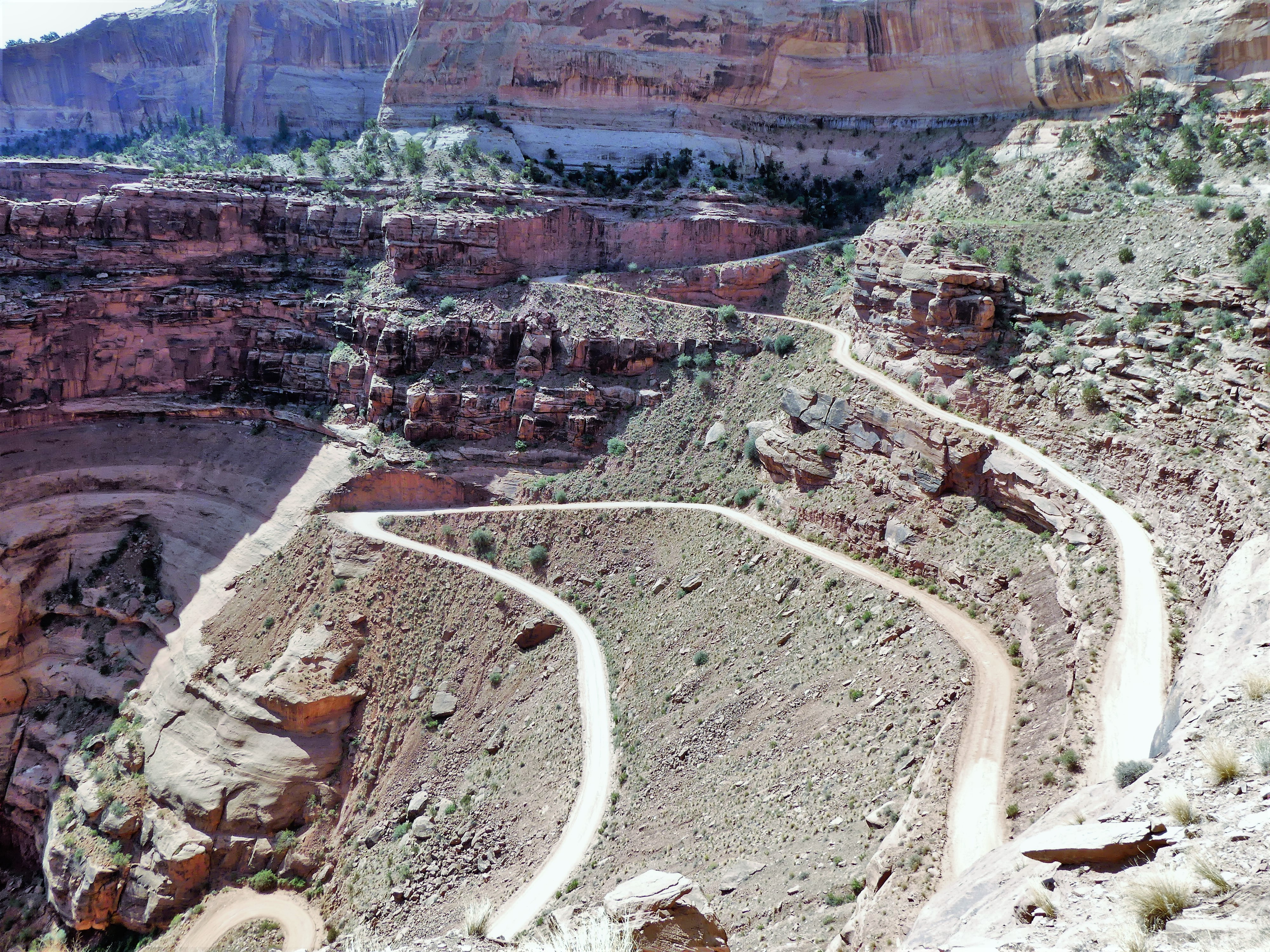 Canyonlands Horshoe Canyon trail