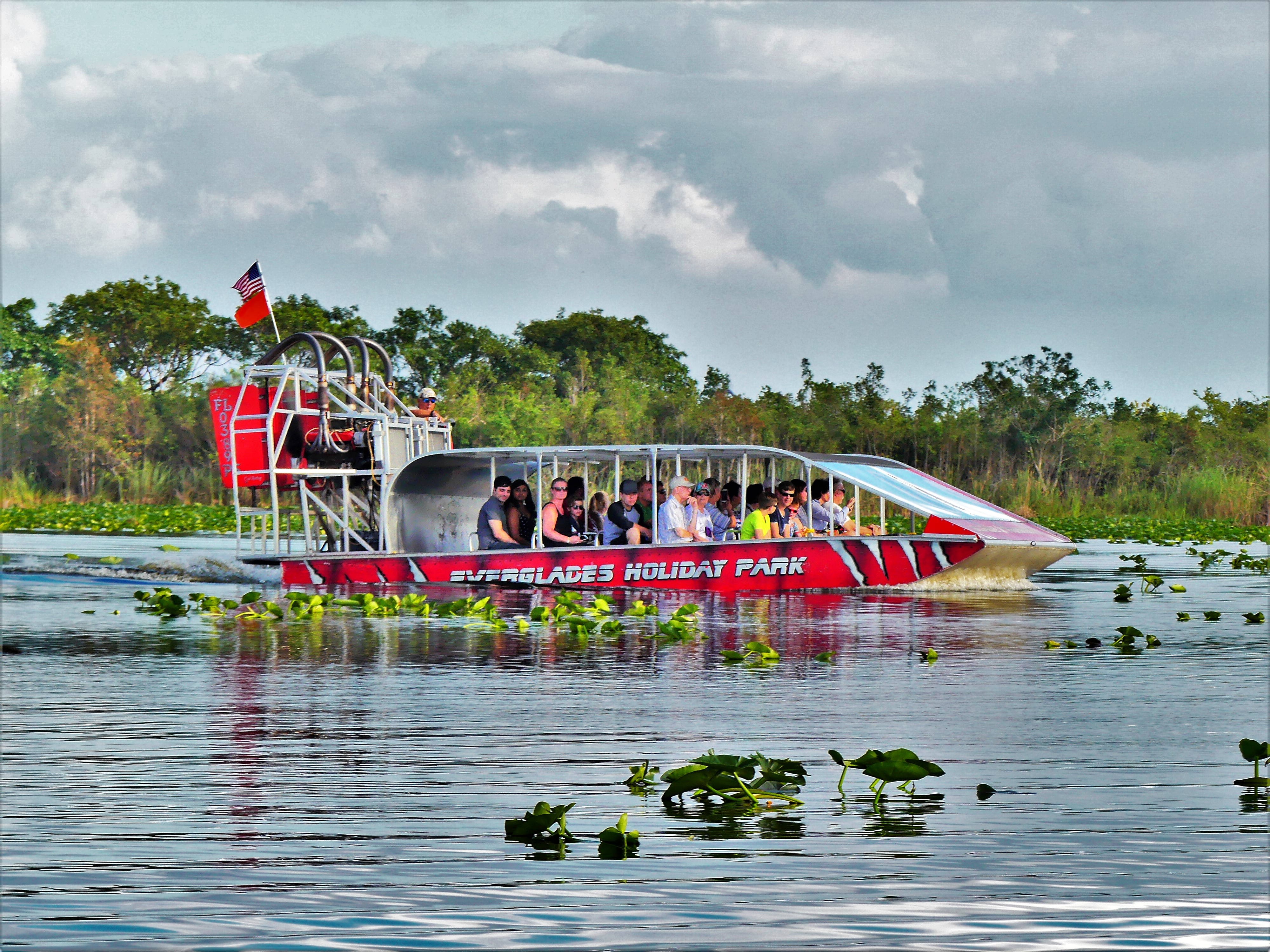 Everglades Airboat trail