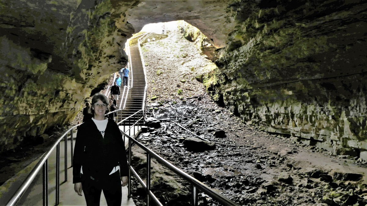 Mammoth Cave trail