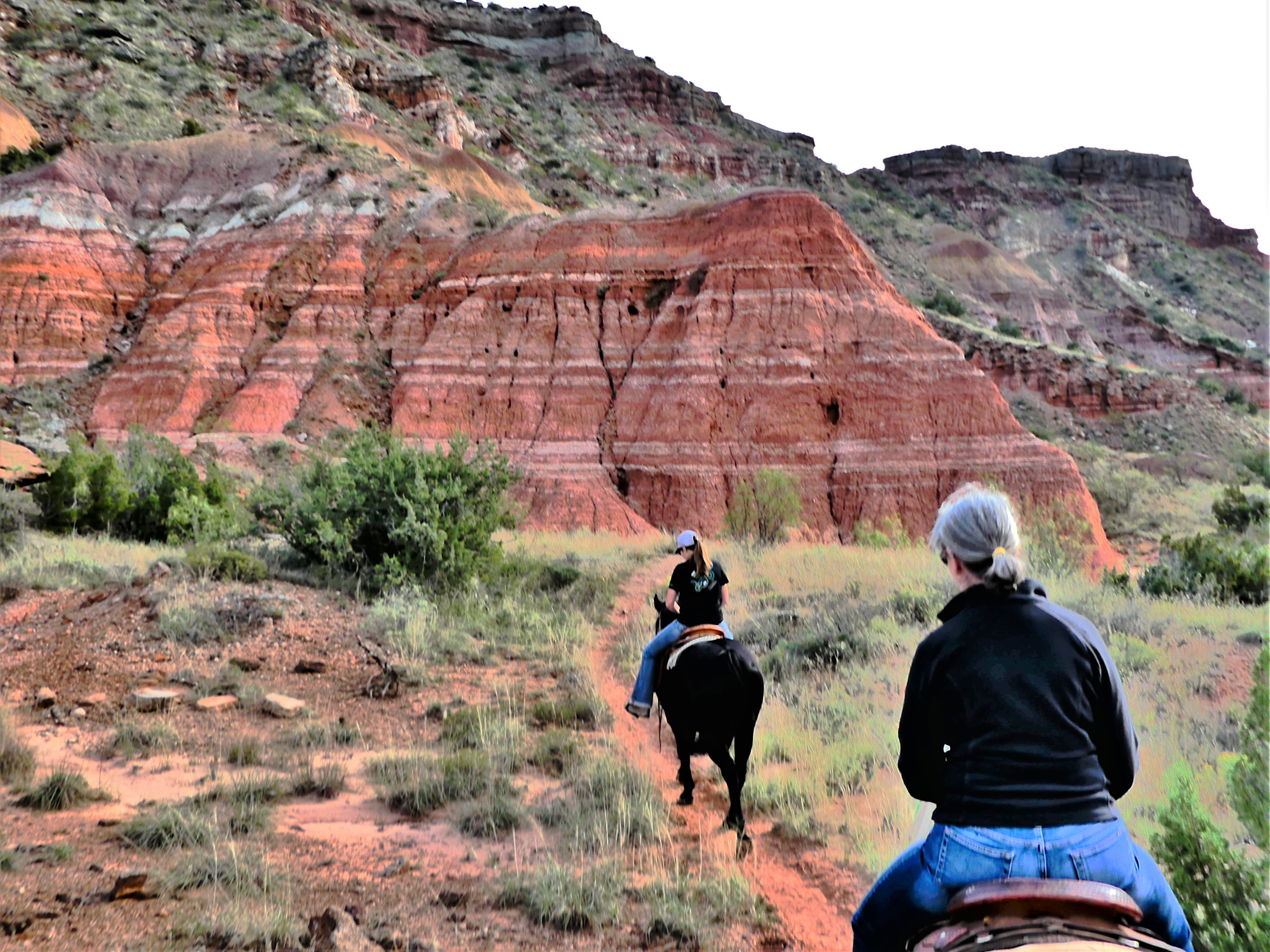 Palo Duro Canyon horse trail