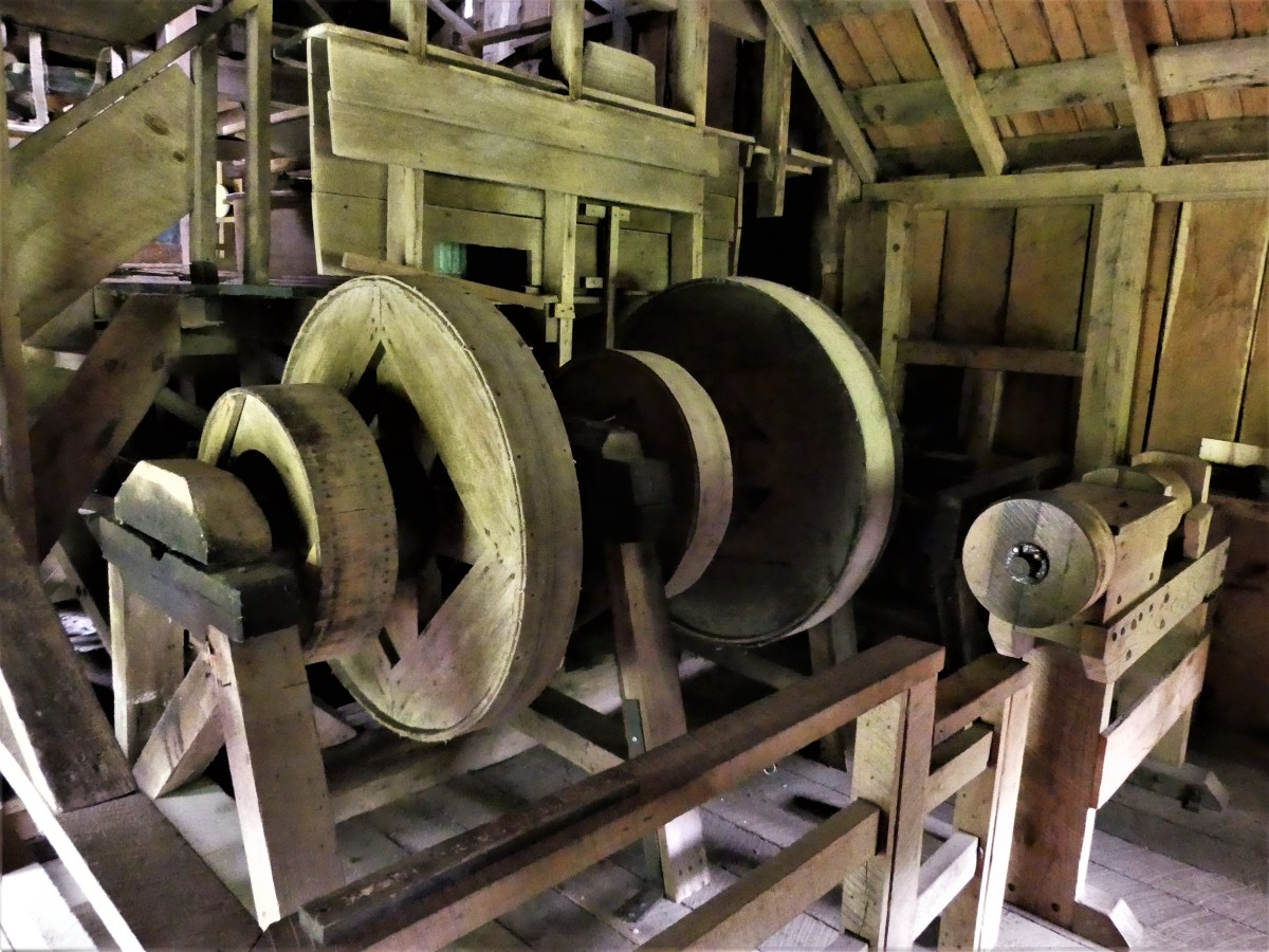drive pulleys
