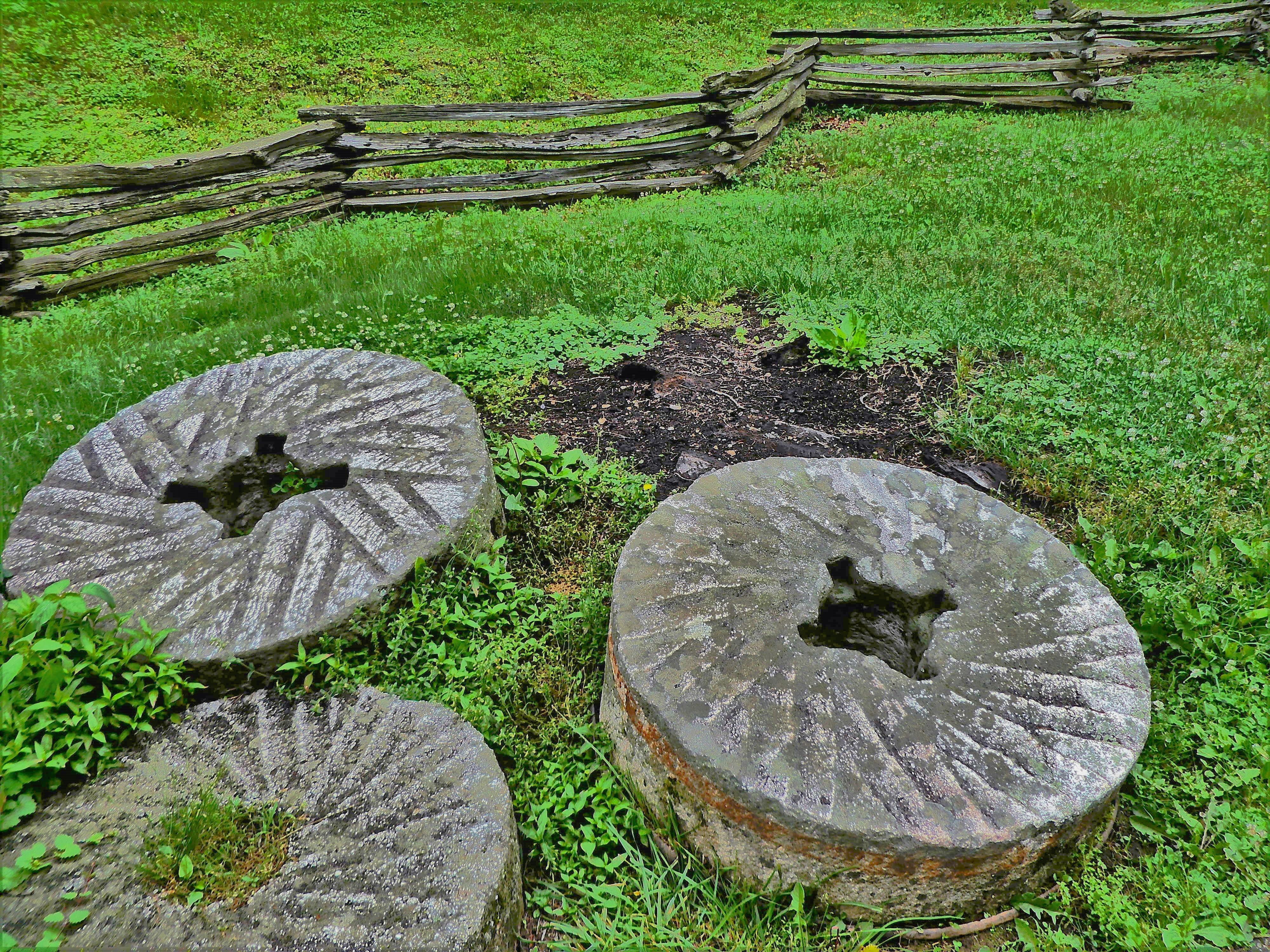 millstones and fences