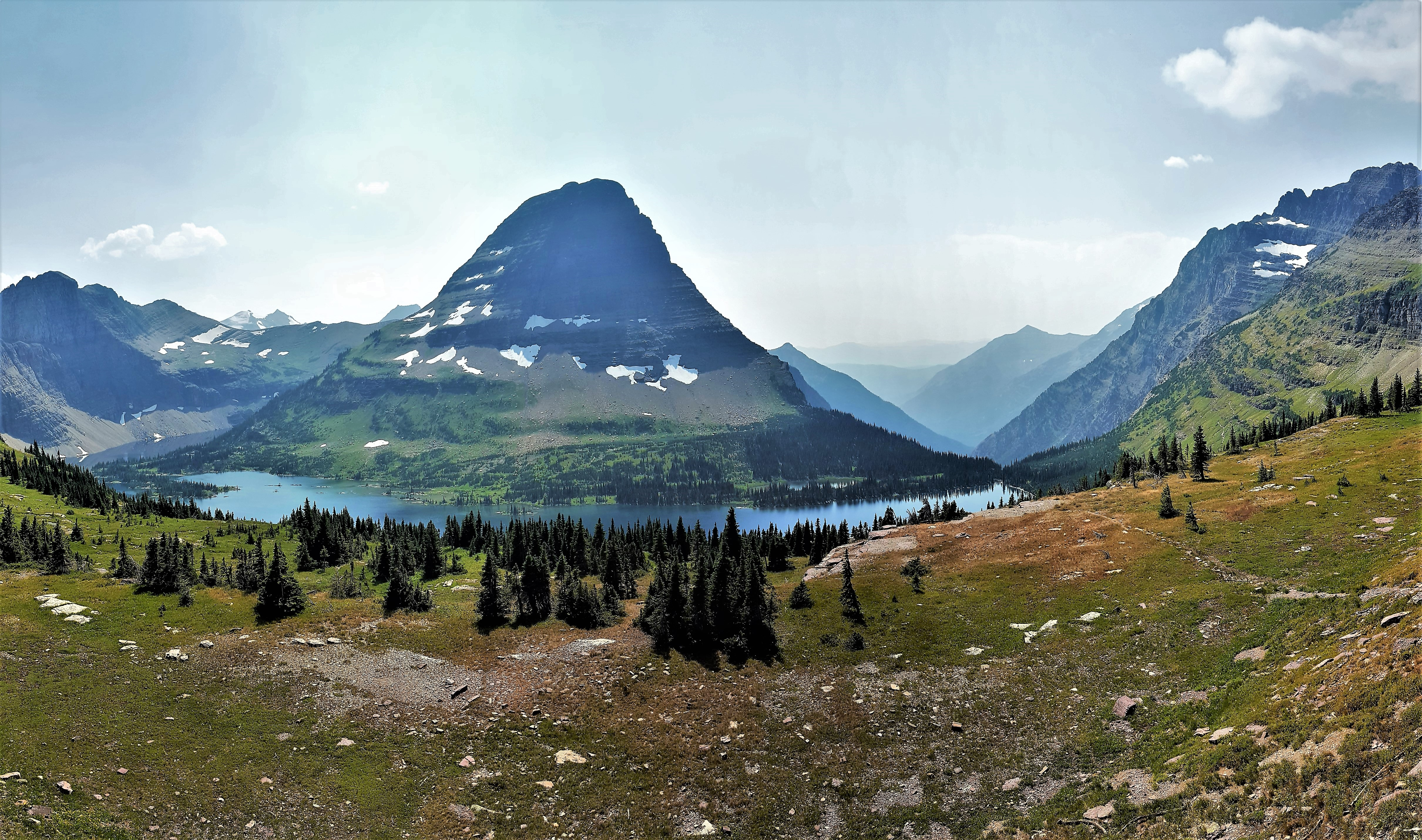 Bearhat Mountain & Hidden Lake, Glacier NP