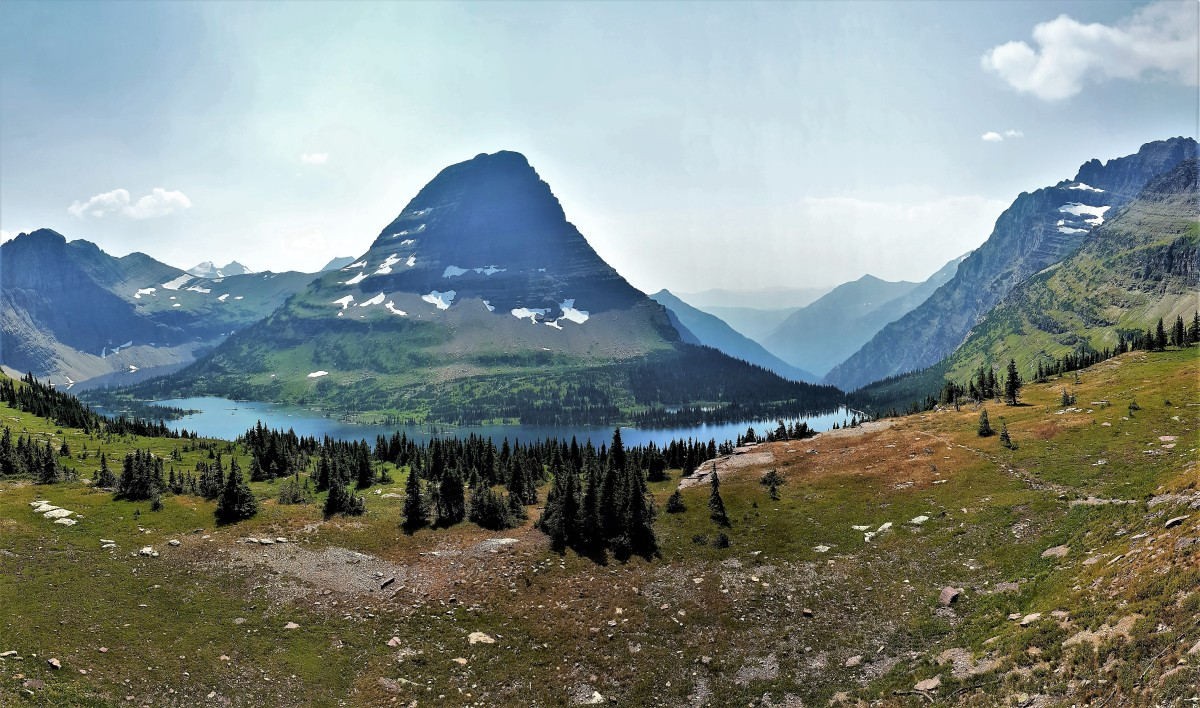 Bearhat Mountain & Hidden Lake, Glacier NP