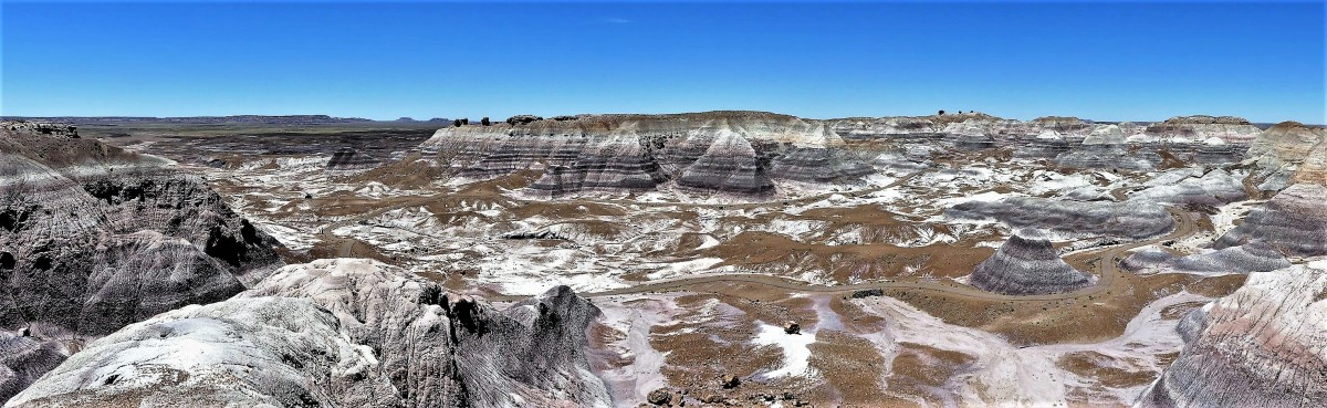 Blue Mesa, Petrified Forest NP