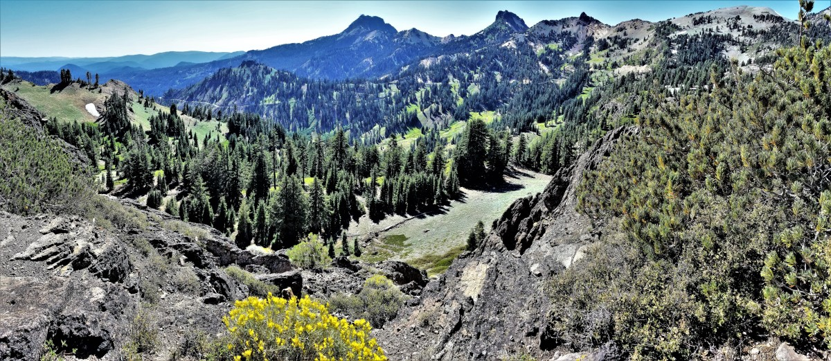 Brokeoff Mountain, Lassen Volcanic NP
